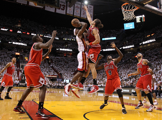 Jogo do Miami Heat e NBA