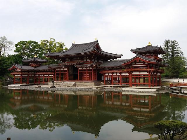 tempio della fenice di Uji giappone