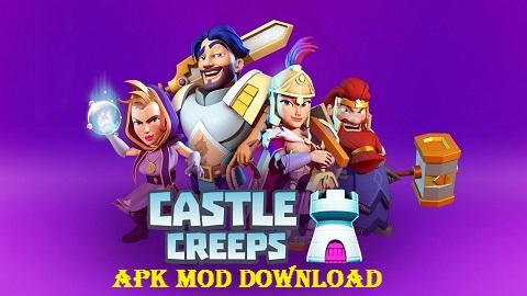 Download Castle Creeps TD Mod APK Infinite Gems Gold