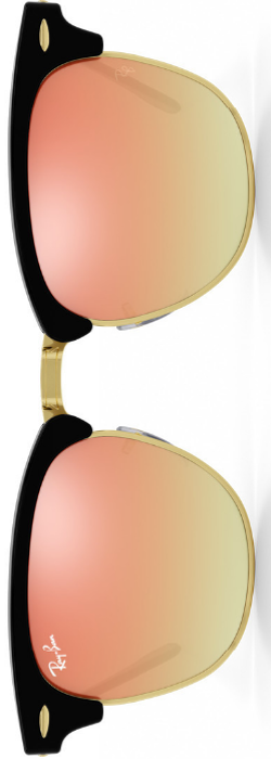 Ray-Ban Clubmaster Copper Gradient