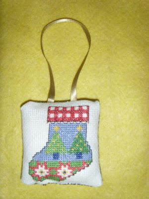 Cross Stitch Ornaments 1