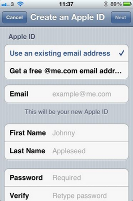 Create iCloud Email Address For Free
