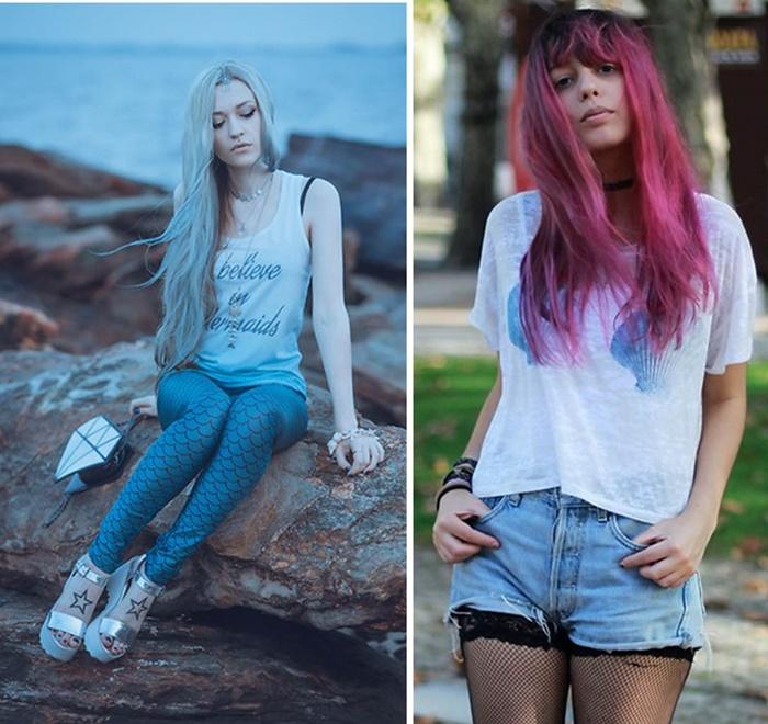 Looks de verão inspirados nas sereias