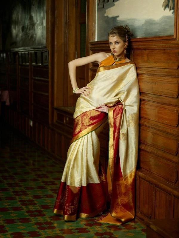 Indian Jewellery And Clothing Kanjeevaram Sarees