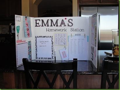 Homework Station Ideas, DIY homework station, easy homework station ideas, homework station for kids, school homework station