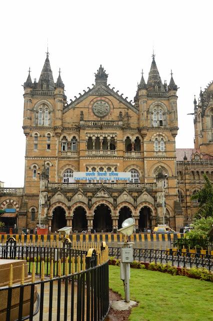 Estación de tren de Victoria en Bombay