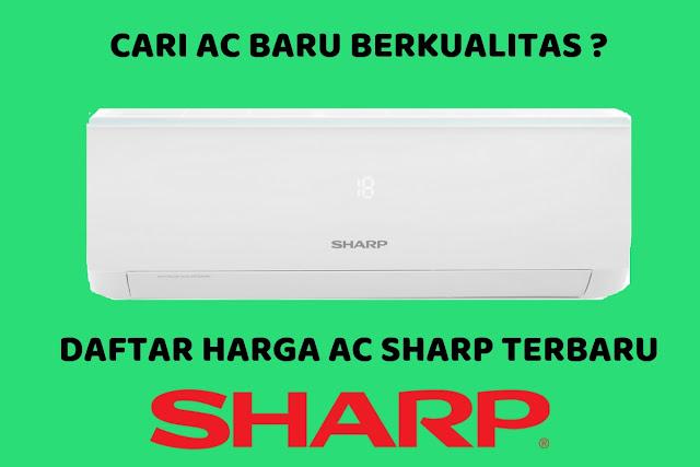 Daftar Harga AC Sharp Terbaru