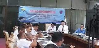 Asisten II Provinsi Jambi Buka Rapat Koordinasi Penyelenggaraan Angkutan Lebaran Terpadu Tingkat Provinsi Jambi.