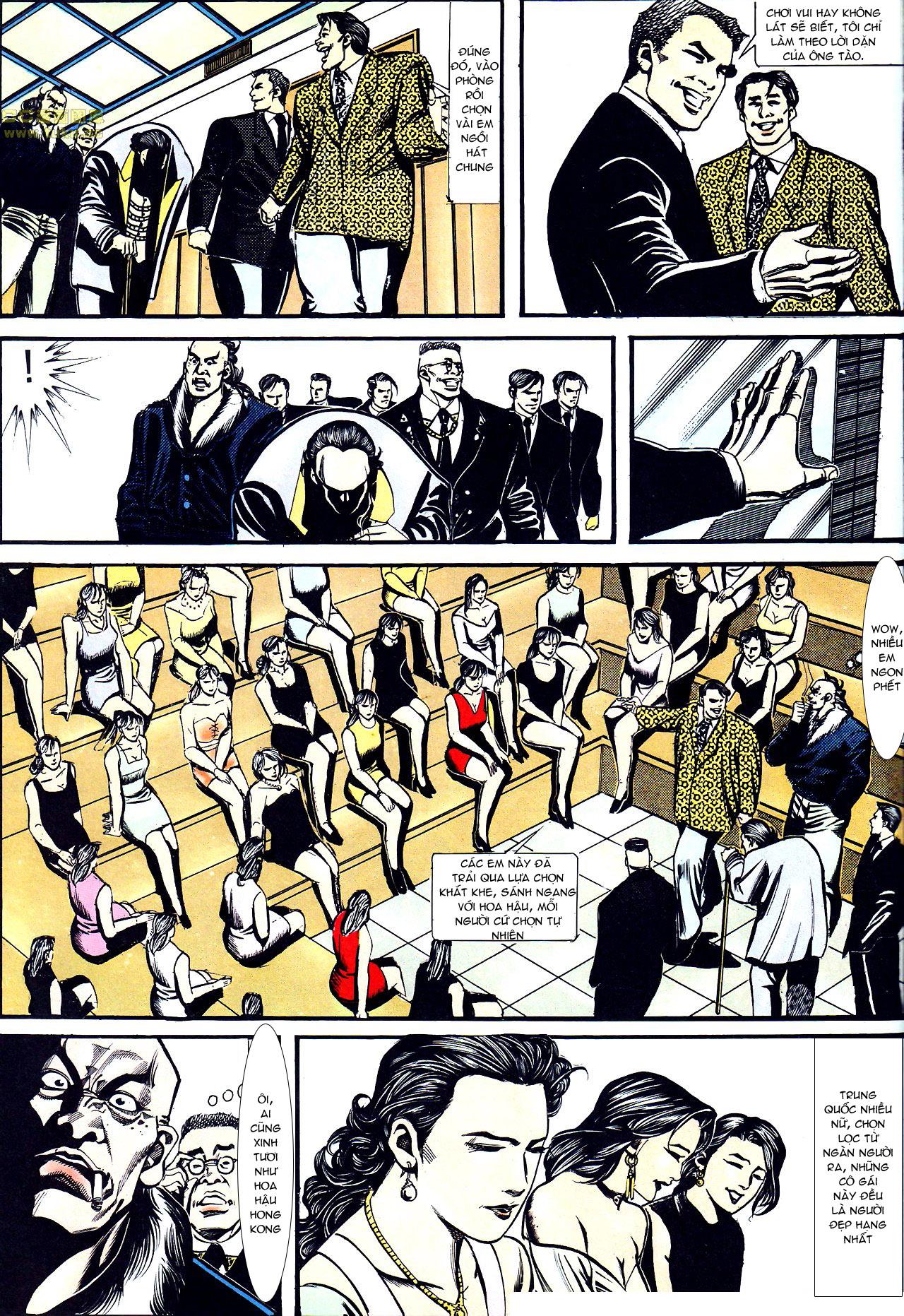Người Trong Giang Hồ chapter 157: thiên đường địa ngục trang 19