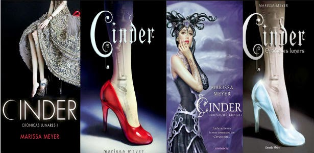 Cinder Lunar Chronicles by Marissa Meyer