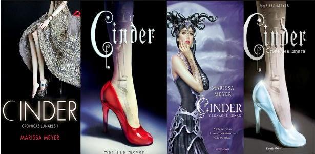 Cinder Lunar Chronicles by Marissa Meyer