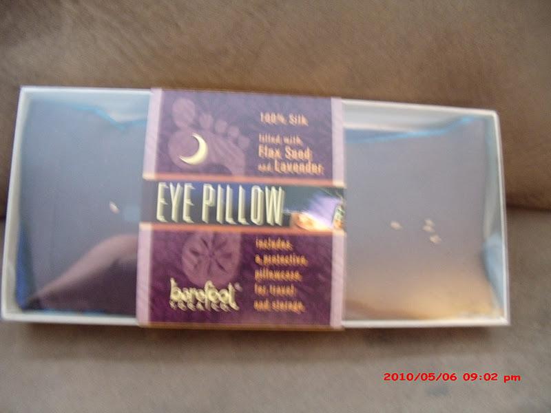 A Lucky Ladybug Barefoot Yoga Silk Eye Pillow Review And Coupon