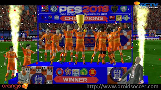 FTS Mod PES 2018 by ARJUNA_AM Apk + Data Obb Android