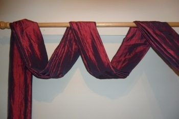 The Second Great Way To Hang Your Scarf Swag Curtains Design