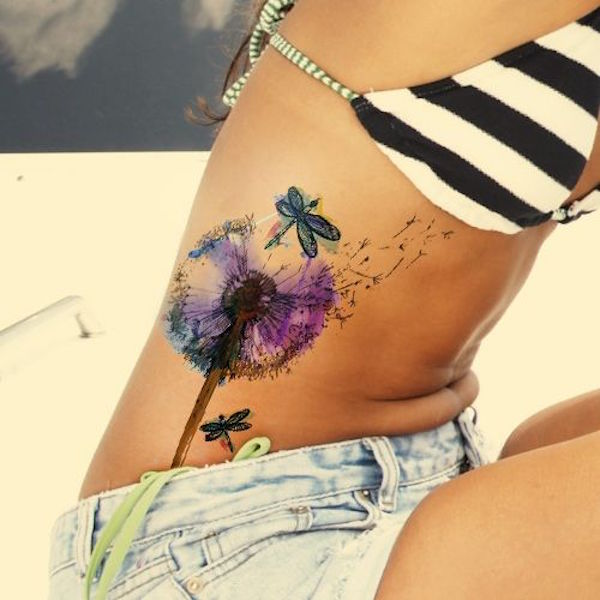 Stunning Side Tattoos For Women