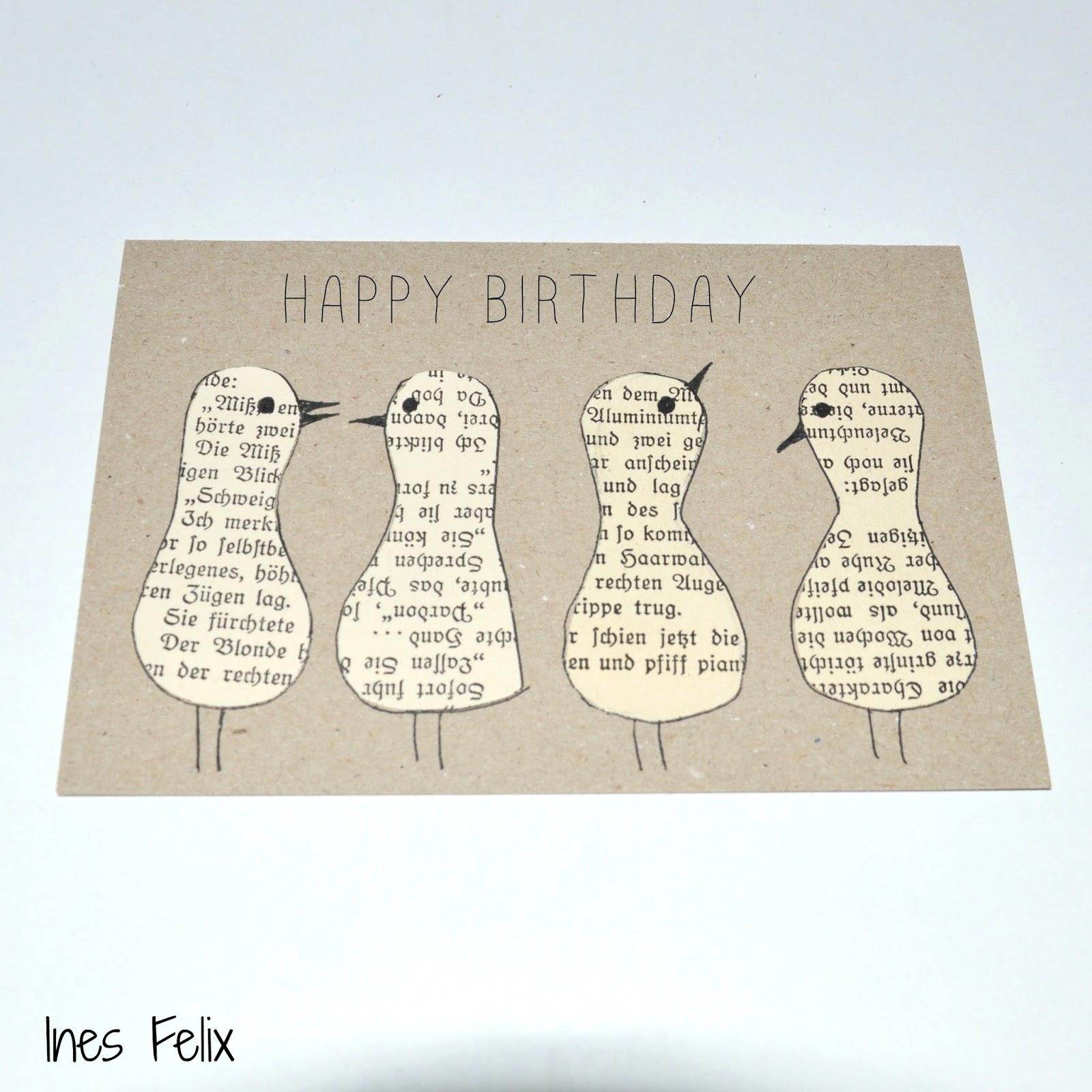 Geburtstagskarte per mail