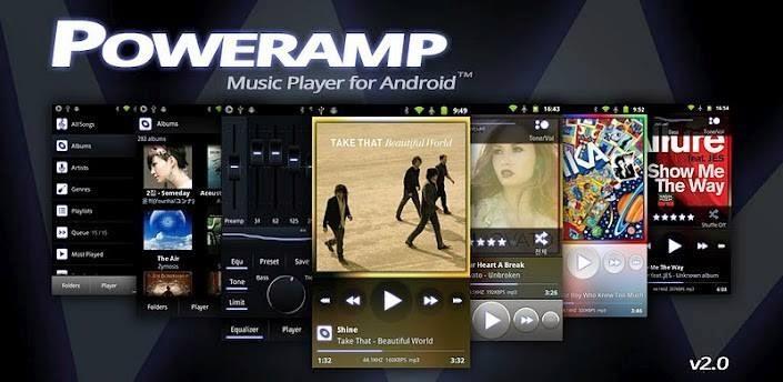 Resultado de imagen de POWERAMP full android apk mod
