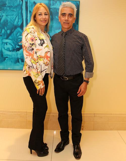 Roxana Salerno y Jorge Barragán