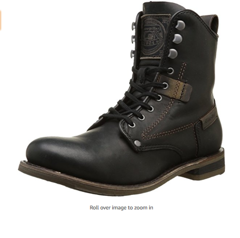 Caterpillar Men's Orson Boot : Leather shoes and boots for men : fashion and style 2018
