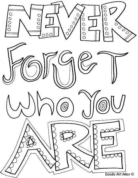 Quotes Coloring Pages With  Images Of Quotes That Are Coloring Pages