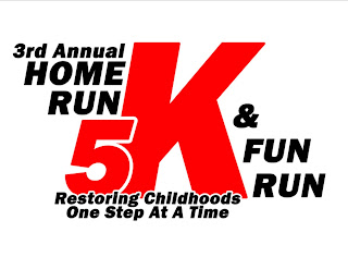 3rd annual Home Run 5K