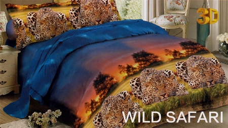 Sprei Red Rose Wild Safari