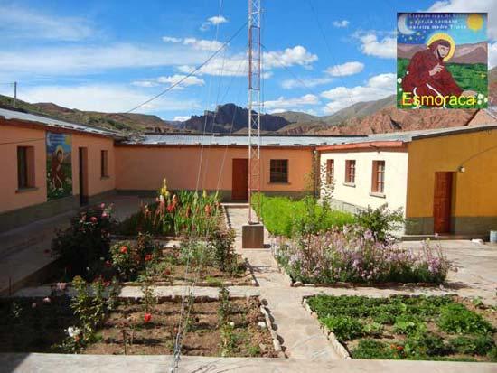 Unser Pfarrhaus in Esmoraca Bolivien