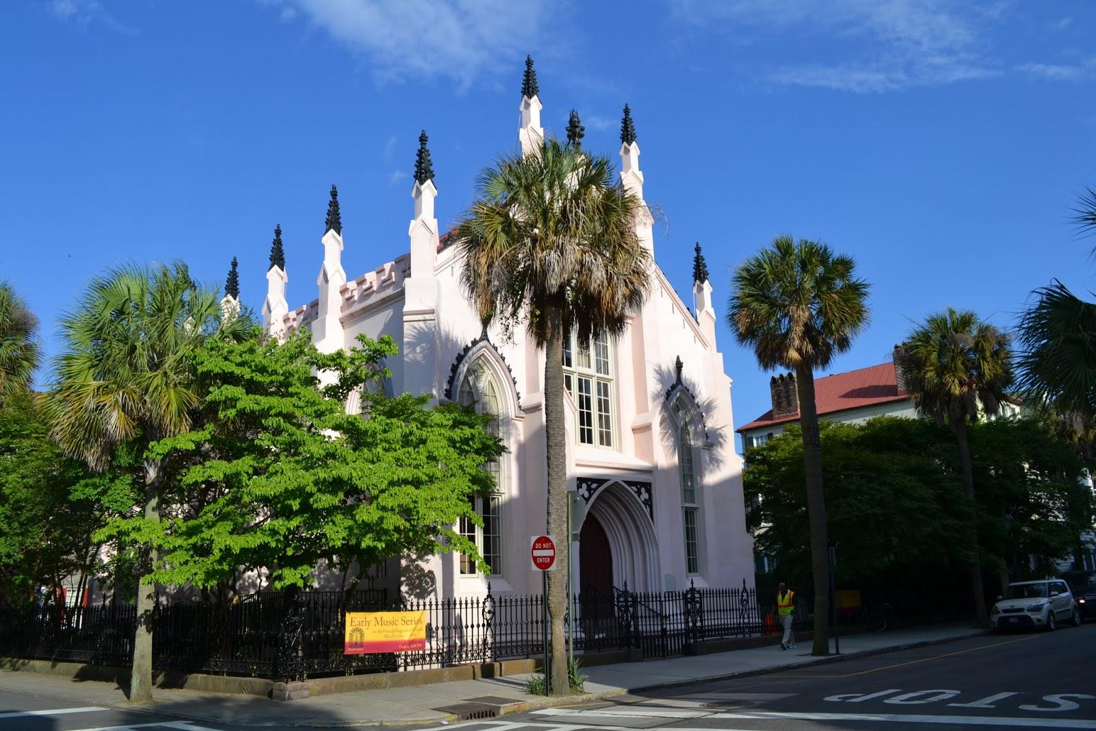 Французская Гугенотская церковь. Чарльстон, Южная Каролина (French Huguenot Church. Charleston, SC)