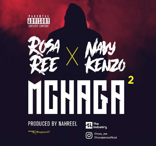 Rosa Ree X Navy Kenzo – Mchaga Mchaga
