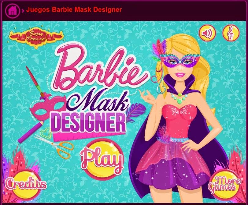 Juegoskizi Jugar Juegos Barbie Mask Designer  JuegosKizi
