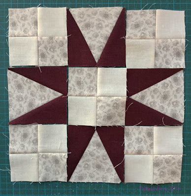 Part 2 - En Provence, Bonnie Hunter Mystery Quilt 2016