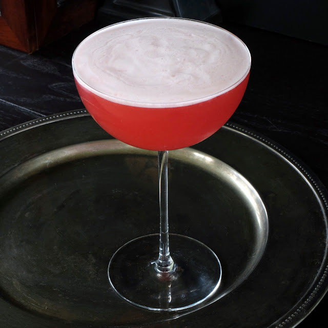 Wild Irish Rose cocktail from The Dead Rabbit Drinks Manual.