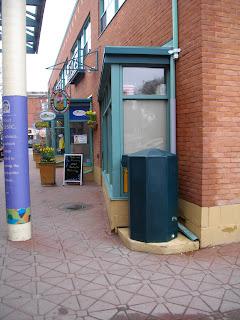 The Big carrot Rain barrel environmentally friendly Toronto