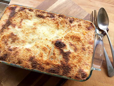 Lasaña Ratatouille (Lasaña de verduras y queso)