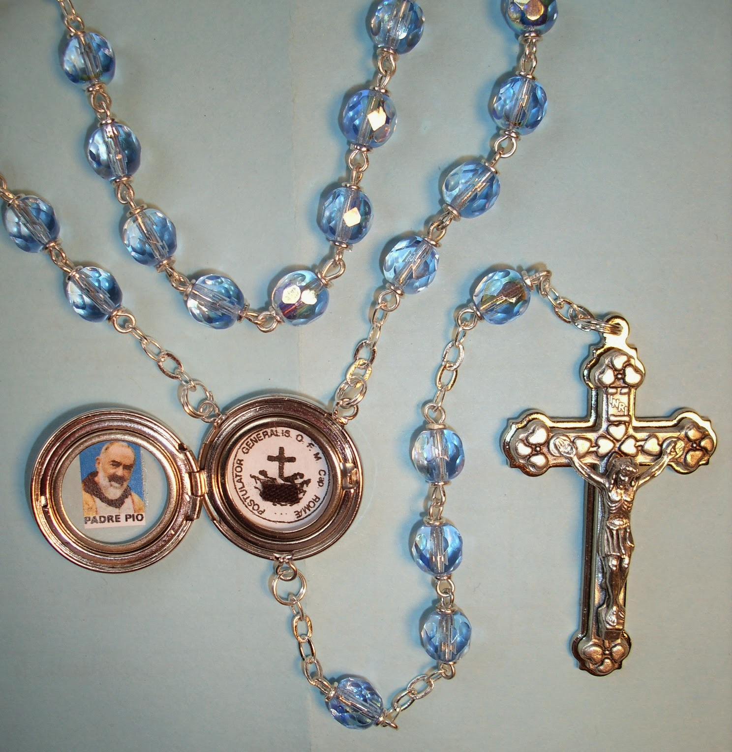 Check out the Rosaries & other items available over at the Mystics of the Church Gift Store