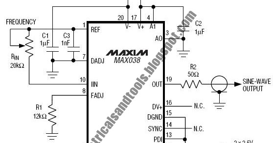 Swith For diagram: High Frequency Generator Circuit