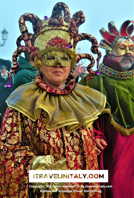 "Venezia Carnival Copyright ""All rights reserved"" © By itravelinitaly.com Travel is the traveler from Italy I Travel in Italy Baldassarri Giuseppe Visual Storytelling."