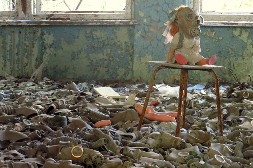 Lost Place  Chernobyl