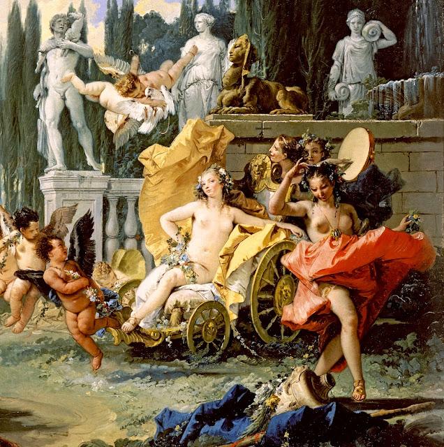 Giambattista Tiepolo - L'impero di Flora