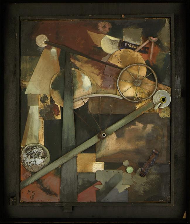 Artplastoc 155 l 39 oeuvre en morceaux dans l 39 art contemporain for Peinture bois metal