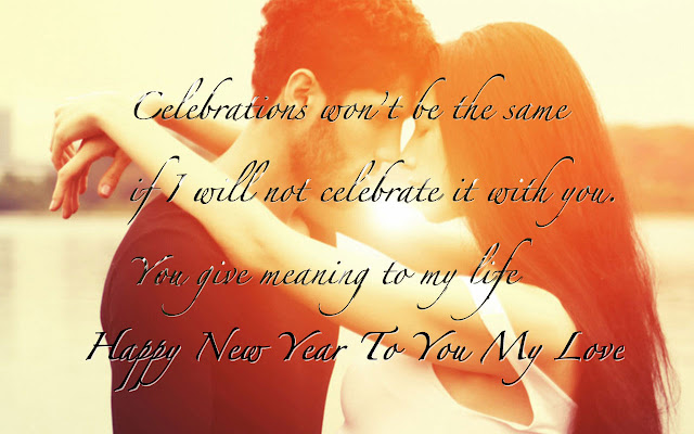 New Year Wishes Quotes Wallpapers For GirlFriend/Gf in spanish