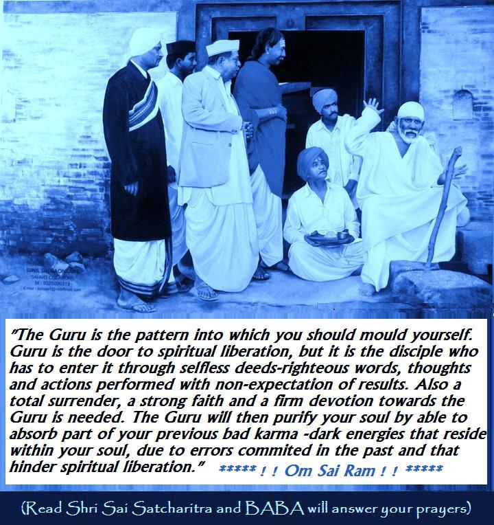 Shirdi Sai -The Saviour-Experience By Sai Devotee