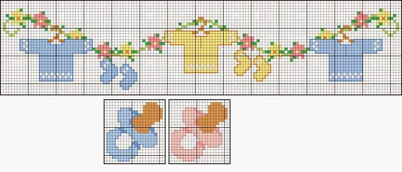 Ricami e schemi a punto croce gratuiti tanti schemi punto for Ricami punto croce per lenzuolini