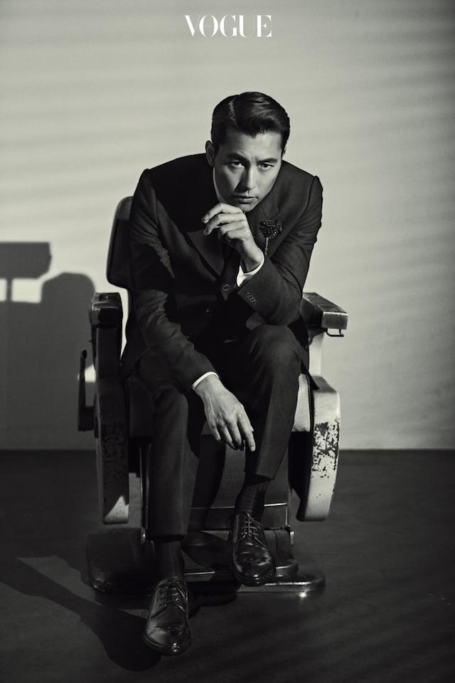 Jung Woo Sung, Jung Woo Sung Vogue, Jung Woo Sung 2016