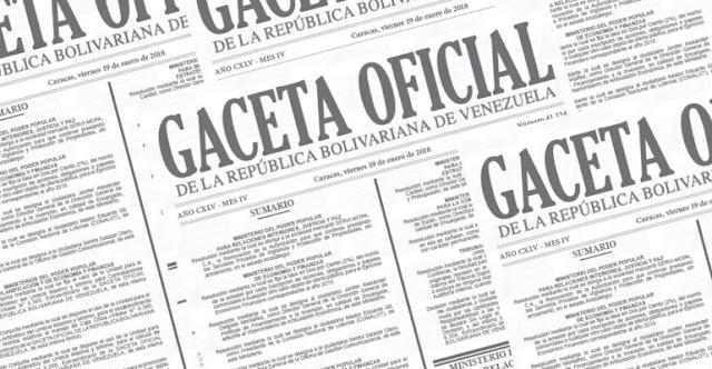 Gaceta Oficial 41.597 Aumento de Unidad Tributaria Marzo 2019