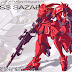 Miss Sazabi Fan Made Box art and Concept Arts