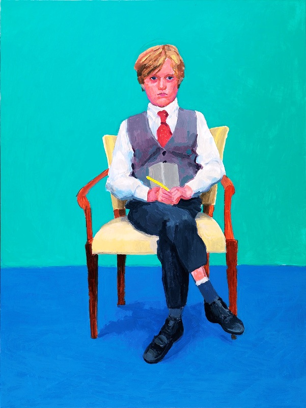 David Hockney at Ca' Pesaro