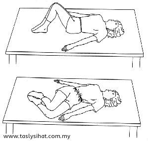 Senaman legakan sakit belakang