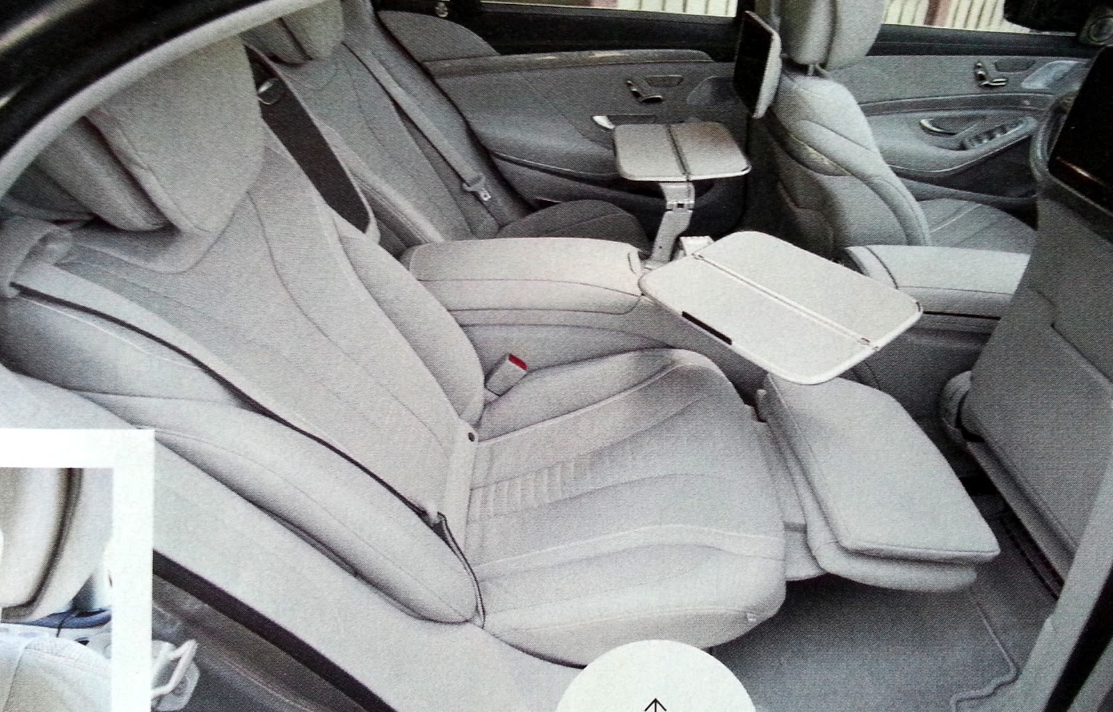 cars that have reclining rear seats autos post. Black Bedroom Furniture Sets. Home Design Ideas