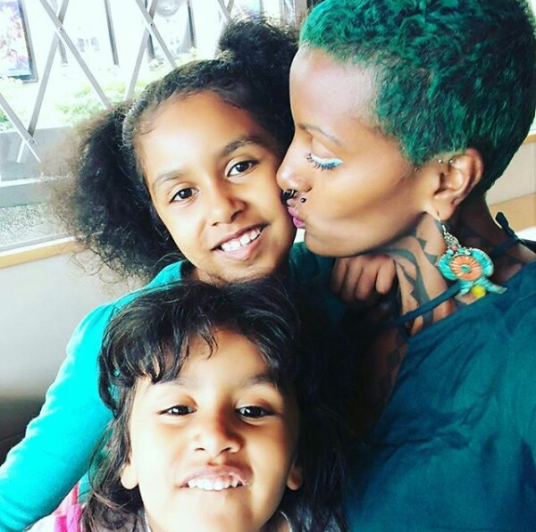 Society say they are imperfect but they have been supplying abundance of milk to my children- Somali-born mother of four bares her breasts on Instagram